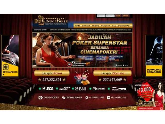 Situs Judi Online BandarQ, DominoQQ, AduQ, Sakong dan Poker Online Terpercaya